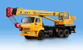 Автокраны грузоподъемностью 25 тонн