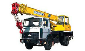 Автокран КС-35715 (16 тонн)